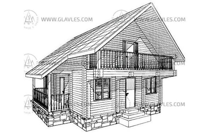 Блок-хаус имитация бревна цена за м2
